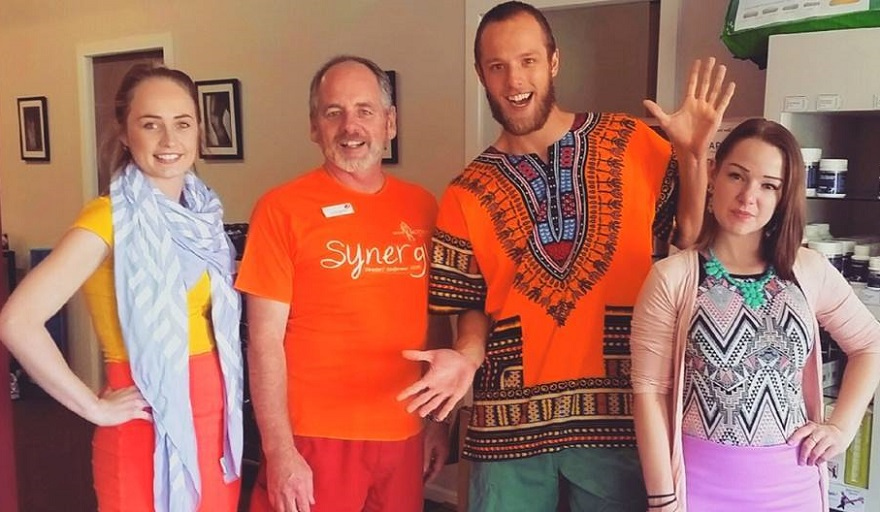 Back In Motion Woodville 'colourful' dress up day raising funds for SOS Health