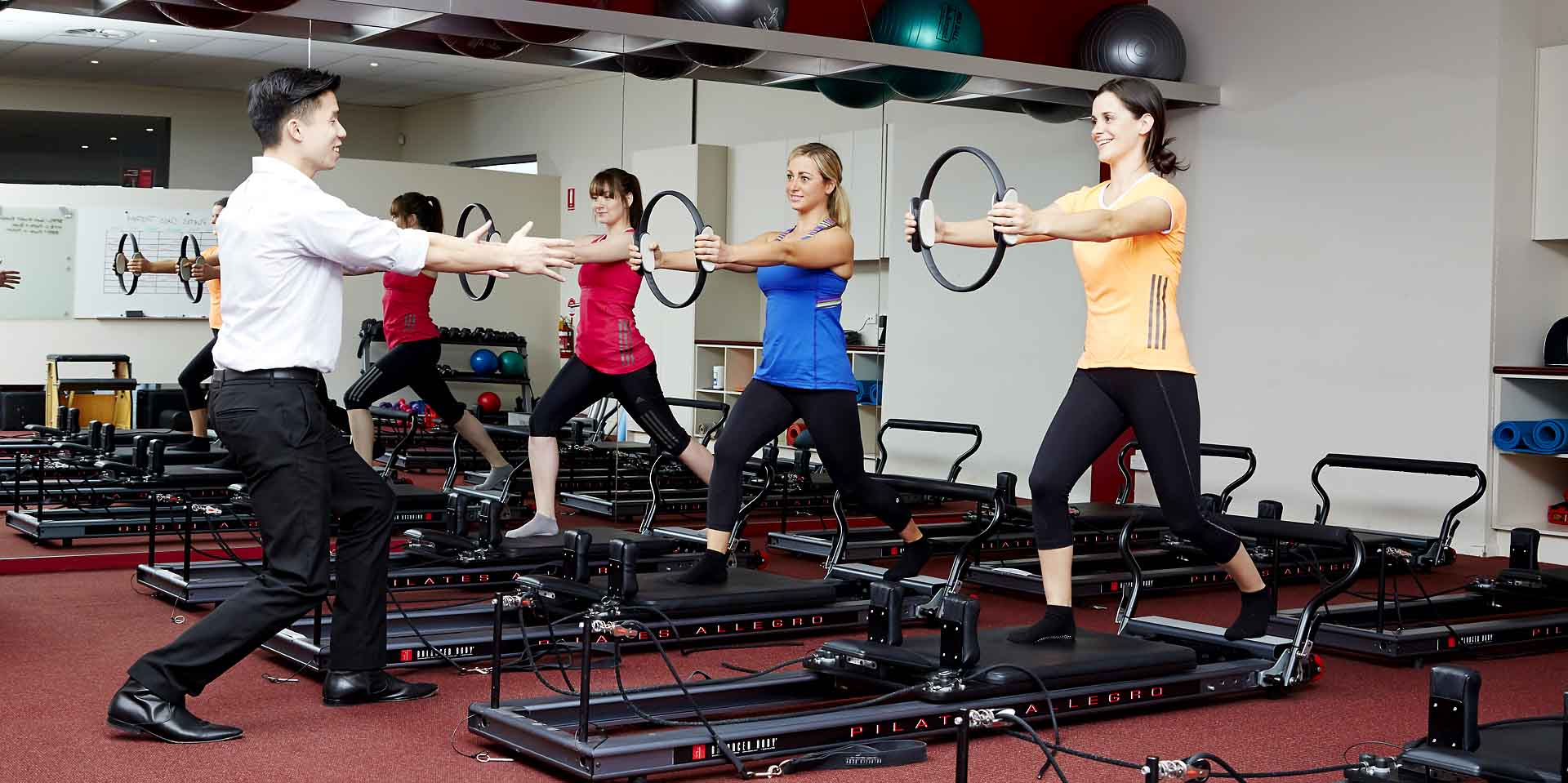 Clinical Pilates with a physiotherapist